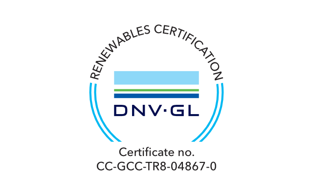 certification mark dnv gl for meteocontrol