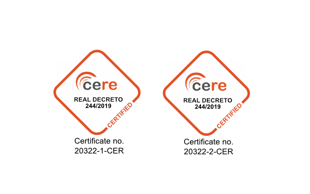 certification mark_cere 20322-1-CER, 20322-2-CER