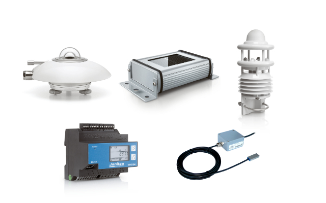Sensors: weather sensors, meter and router